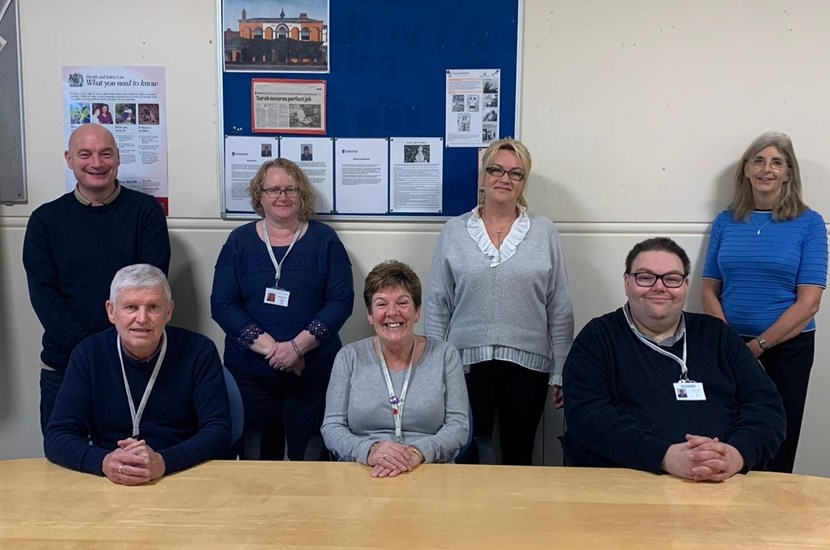 Doncaster Deaf Trust's Aspire to Be team