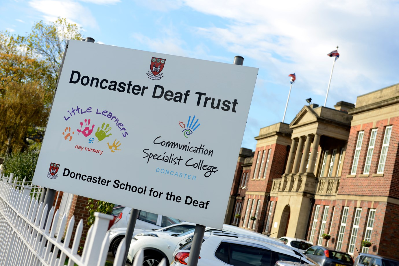 Doncaster Deaf Trust, Front Building Sign